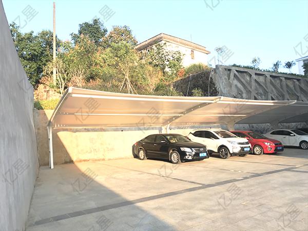 福州7字型单位停车棚