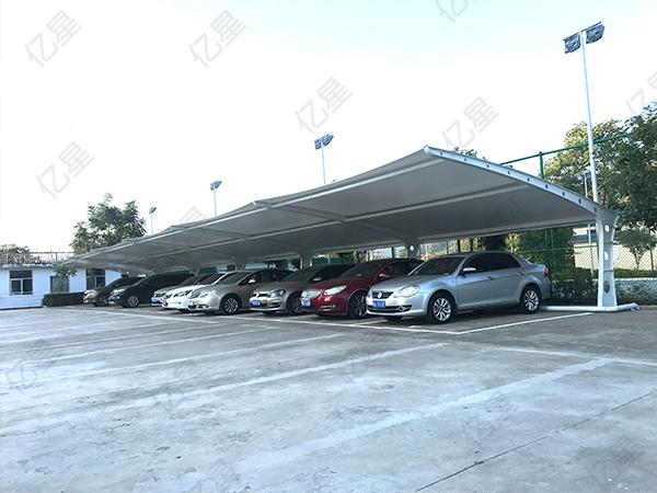 福州7字型商场停车棚