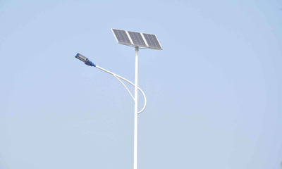 led太阳能路灯功率,灯杆与高度及道路宽度的关系