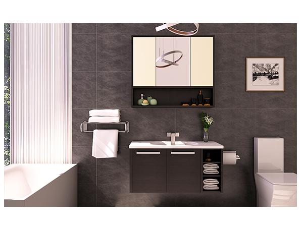 妙洁欧式全铝卫浴柜价格