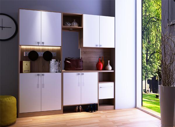 全铝酒柜设计别出心裁,充分利用室内空间