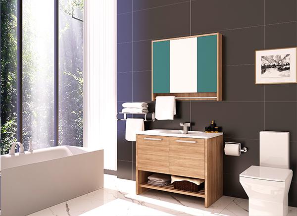 全铝面盆卫浴柜