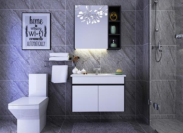 简约全铝卫浴柜