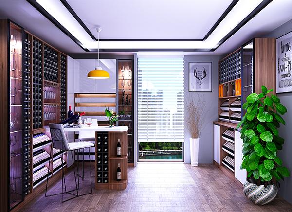 全铝酒柜家具