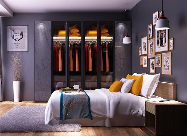 全铝卧室衣柜