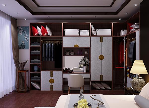 新中式全铝衣柜