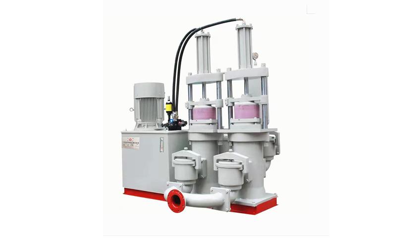 压滤机专用进料泵通过怎样的工作原理来实现节能的
