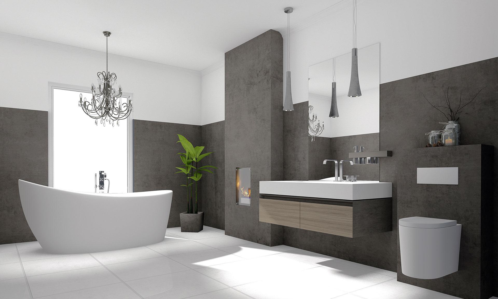 全铝极简卫浴柜3