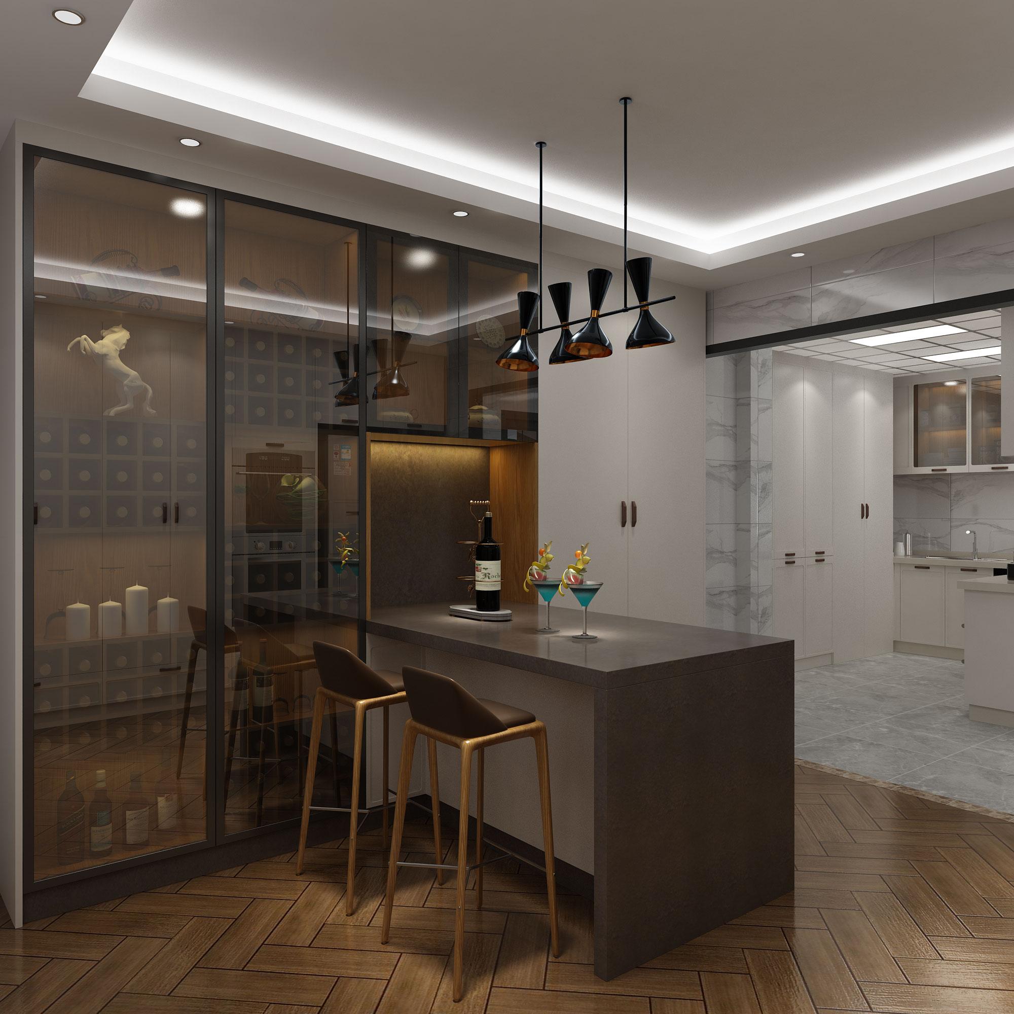 铝合金柜子为什么能在板式家具中脱颖而出,看看这个就知道了!