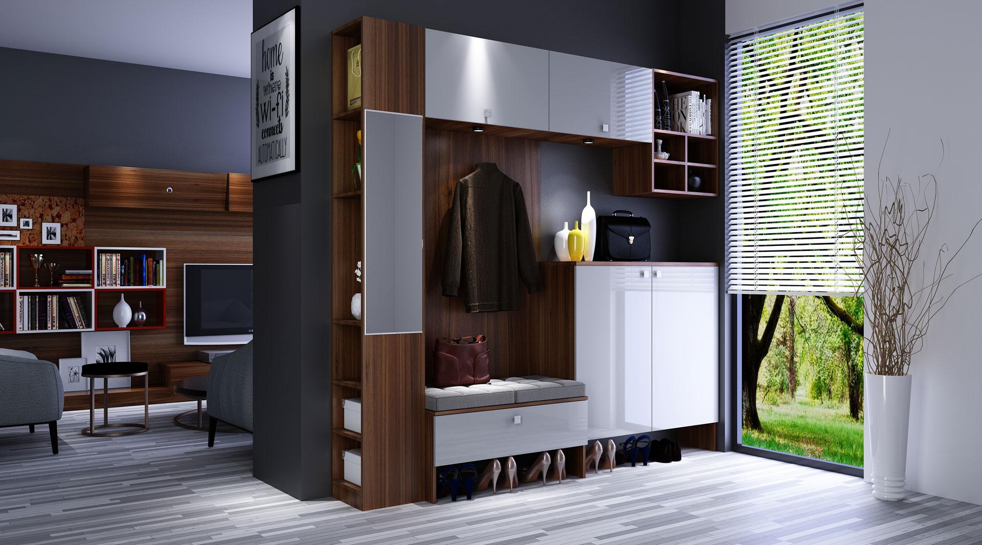 2020年满分鞋柜设计,你家也该这样装