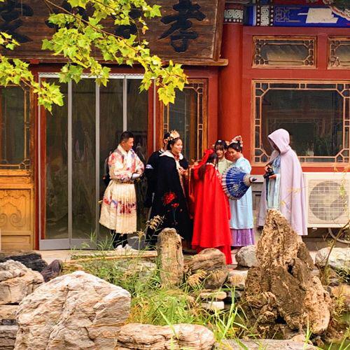 古装团建拓展寻宝类主题活动(北京高碑店古装四合院)</br>活动类型:拓展、团建、培训