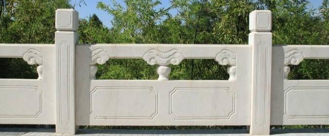 景区安装石材栏杆时要选择什么样的造型