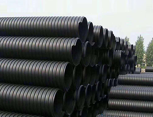 HDPE高密度聚乙烯缠绕结构壁增强管