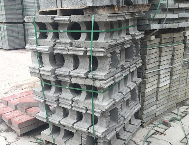 弧型模块砖
