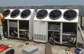 从哪些方面判断空气能热水器没有或缺少冷媒?