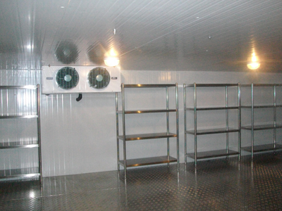 酒店餐厅冷库安装
