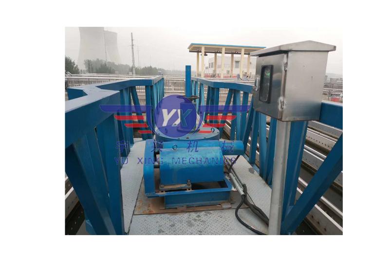 刮泥机减速机用在水处理设备