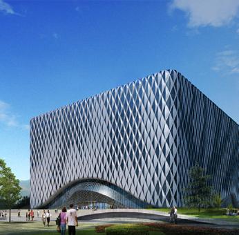 北京建筑大学图书馆项目