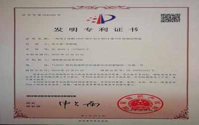 【一种用于诊断FAdVMDVALVREV4重PCR检测试剂盒】-发明专利证书