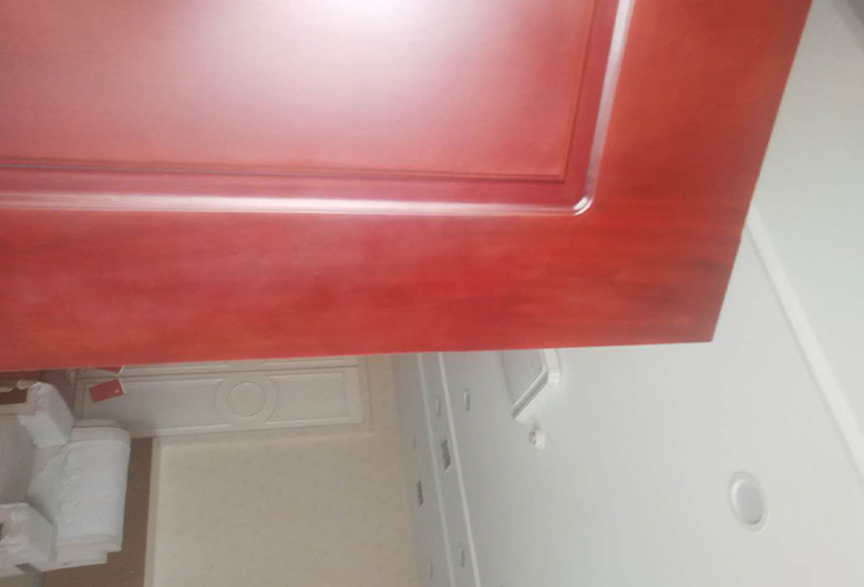 红木门翻新案例