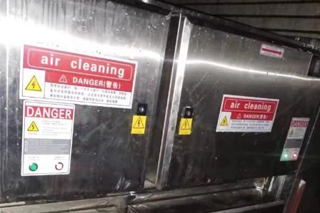 净化器设备清洗