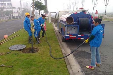 下水管道疏通方法