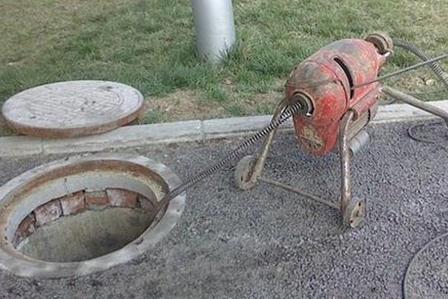 小区下水管道疏通