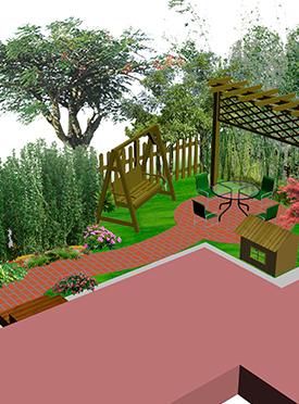 花园景观设计施工