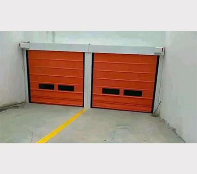 电动地下车库门