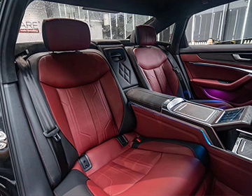 北京汽车改装的车身颜色和车顶情况