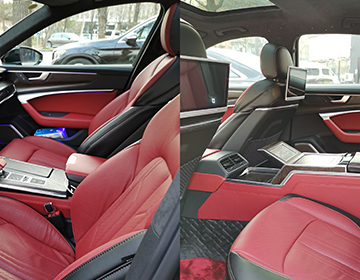 奧迪A6L內飾改裝升級打造全新駕駛體驗