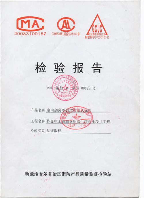工程检测报告1