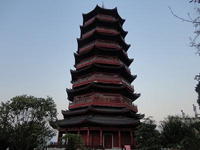 江西螺子山宝塔(木器漆)