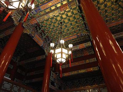 北京天安门城楼内涂装(彩绘)