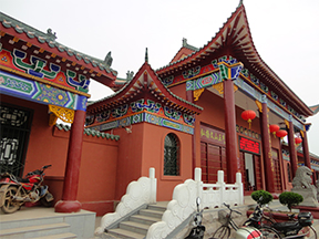 江西吉安文天祥纪念馆(华润漆)