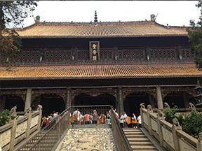 湖南南岳大庙(湘江漆)