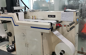 标签印刷生产车间