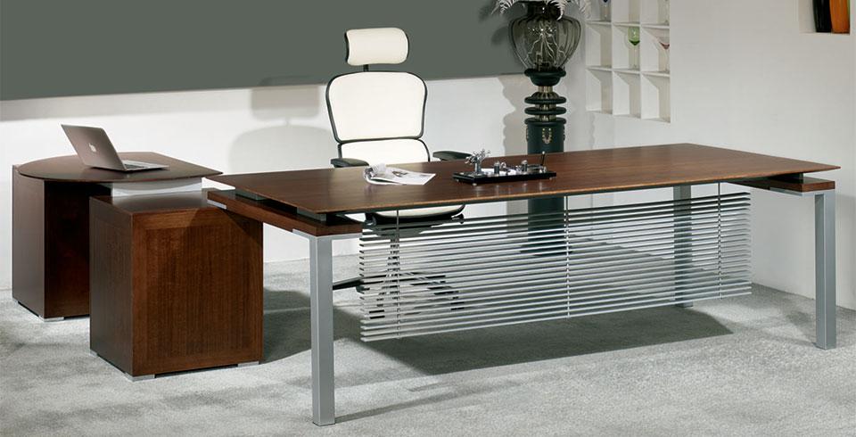 时尚板式办公桌