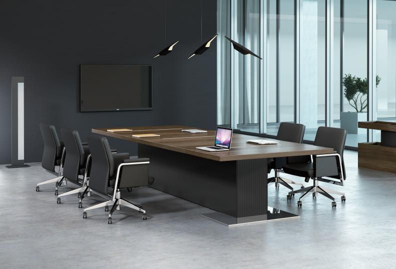 会议桌根据哪些要素选购会议桌的常规尺寸是多少