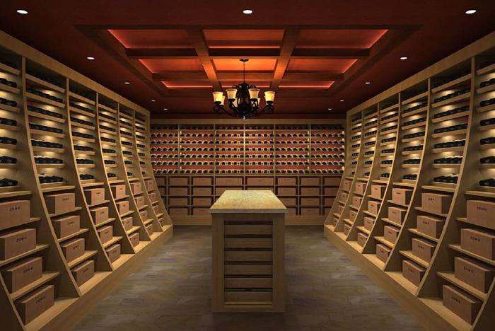 异性木质酒窖