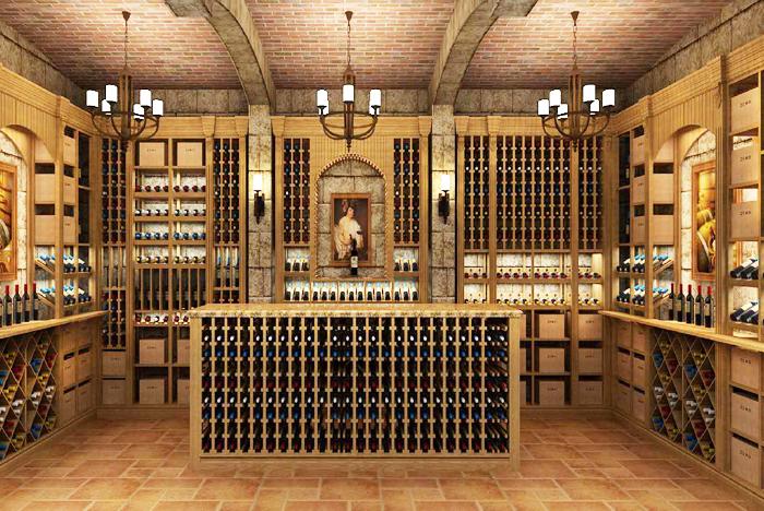 实木酒窖设计价格