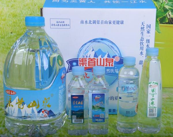 瓶装水产品展示-2