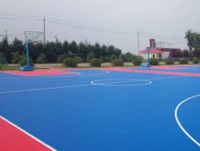 篮球场悬浮地板