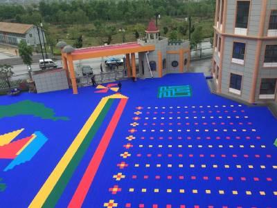 幼儿园户外悬浮地板