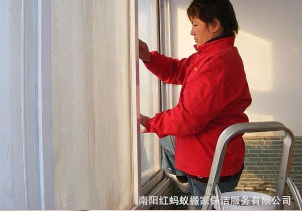 门窗保洁清洗