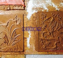 浮雕泥稿作品