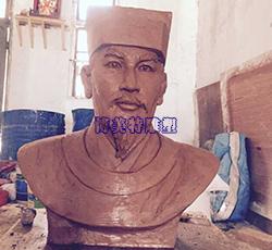 吉安文天祥头像雕塑泥稿