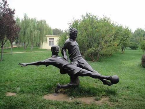 吉安玻璃钢铜像雕塑