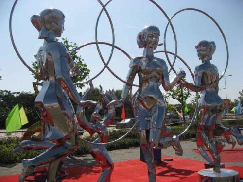 吉安不锈钢人物雕塑