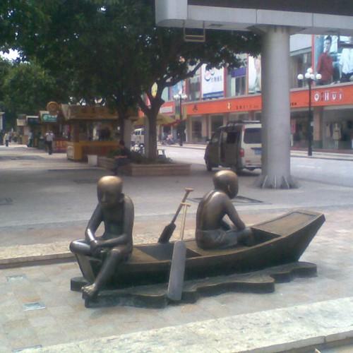 吉安人物雕塑
